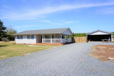Jackson Springs Single Family Home Active/Contingent: 141 Hartsell Lane