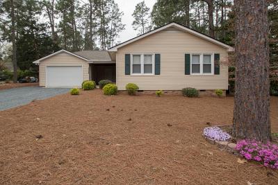 Pinehurst Single Family Home Active/Contingent: 1360 E Longleaf Drive