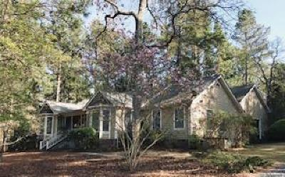 Pinehurst NC Single Family Home For Sale: $320,000