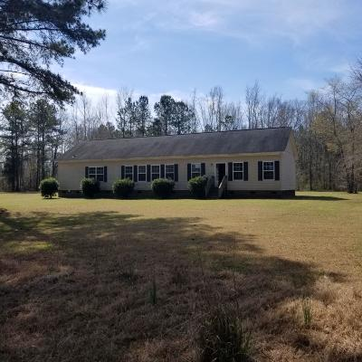 Single Family Home For Sale: 18880 Salley McNair Road
