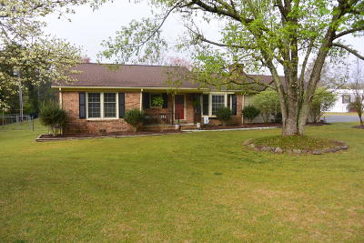 Aberdeen Single Family Home Active/Contingent: 10616 Nc-211