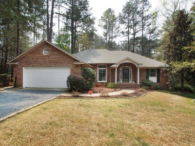 Pinehurst Single Family Home Active/Contingent: 6 Bob O Link Road