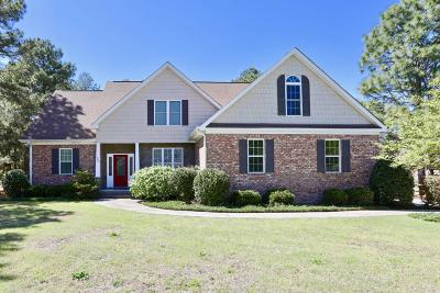 Moore County Single Family Home Active/Contingent: 13 Winding Trail