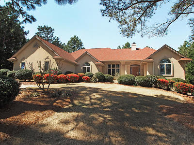 Pinewild Cc Single Family Home Active/Contingent: 26 New Castle Place