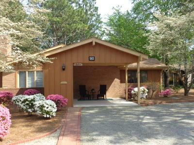 Southern Pines Condo/Townhouse Active/Contingent: 408 Teakwood Lane