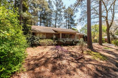 Southern Pines Single Family Home Active/Contingent: 475 S Ridge Street