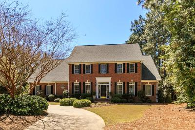 Moore County Single Family Home Active/Contingent: 1906 Midland Road