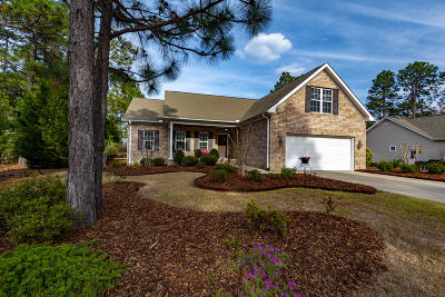 Pinehurst Single Family Home Active/Contingent: 2 Saddle Place