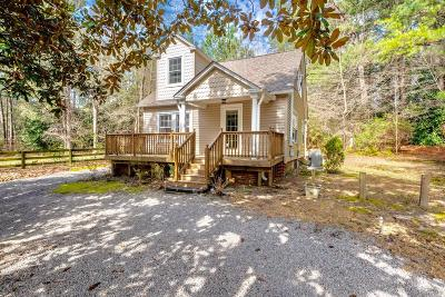 Southern Pines Single Family Home For Sale: 350 S Bethesda Road