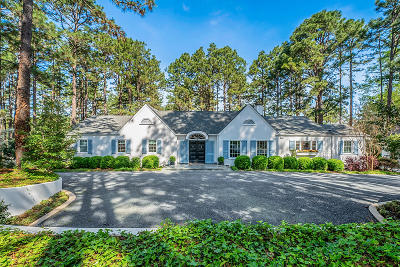 Southern Pines Single Family Home For Sale: 590 Pee Dee Road