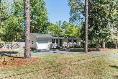 Southern Pines Single Family Home Active/Contingent: 500 N Leak Street
