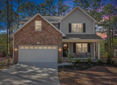 Pinehurst Single Family Home Active/Contingent: 185 Adams Circle