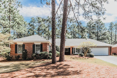 Southern Pines Condo/Townhouse Active/Contingent: 23 Magwood Court