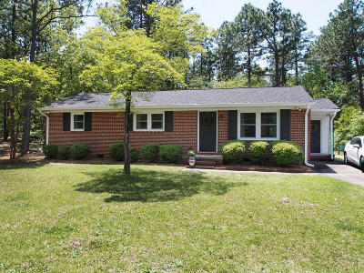 Southern Pines Single Family Home Active/Contingent: 540 W Maine Avenue