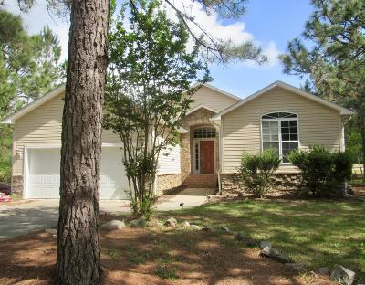 Vass Single Family Home Active/Contingent: 650 Bald Eagle Drive