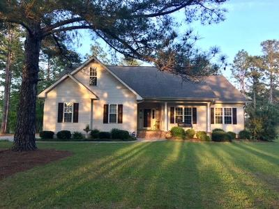 Pinebluff Single Family Home Active/Contingent: 107 Laurel Oak Lane