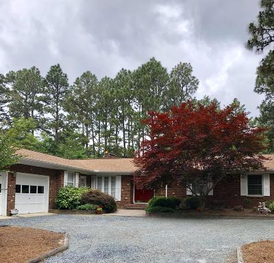 Whispering Pines Single Family Home For Sale: 135 Pine Ridge Drive