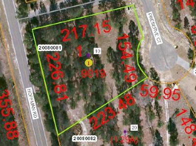 Jackson Springs Residential Lots & Land For Sale: 10 Preserve Court