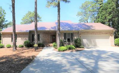 Moore County Single Family Home Active/Contingent: 95 Thunderbird Lane