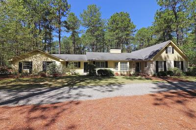 Southern Pines Single Family Home For Sale: 310 Becky Branch Road