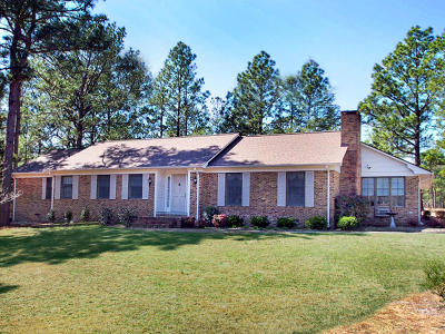 Whispering Pines Single Family Home For Sale: 117 Pine Lake Drive