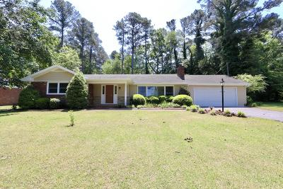Whispering Pines Single Family Home Active/Contingent: 17 S Lakeshore Drive