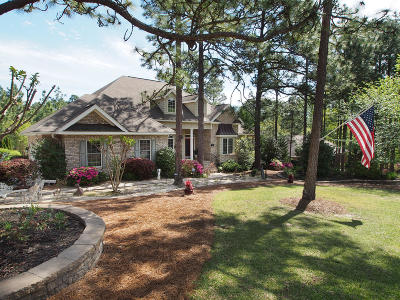 Pinehurst Single Family Home Active/Contingent: 11 Juniper Creek Boulevard