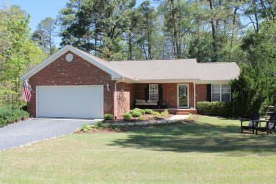 Moore County Single Family Home Active/Contingent: 1225 NW Longleaf Drive