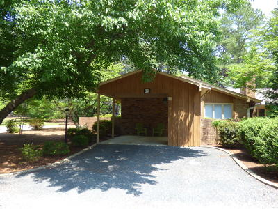 Southern Pines Condo/Townhouse Active/Contingent: 420 Teakwood Lane