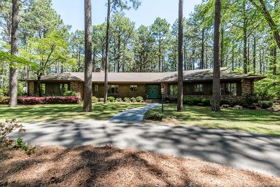 Southern Pines Single Family Home Active/Contingent: 375 Becky Branch Road