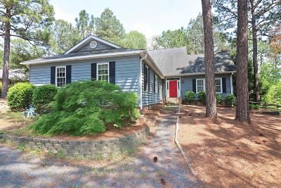 Moore County Single Family Home Active/Contingent: 127 Hastings Road