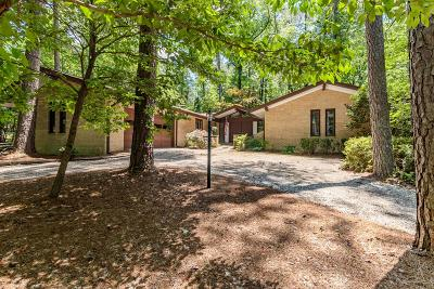 Southern Pines Single Family Home For Sale: 127 James Creek Road