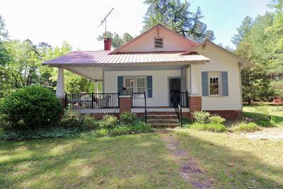 Carthage Single Family Home Active/Contingent: 2900 Vass-Carthage Road