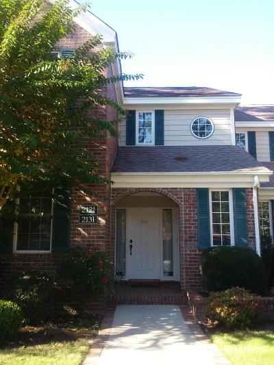 Southern Pines Condo/Townhouse For Sale: 2131 Creswell Drive