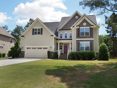 Moore County Single Family Home Active/Contingent: 21 Victoria Drive