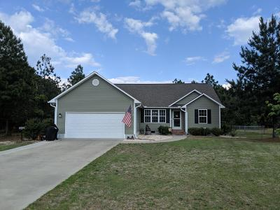 Moore County Single Family Home Active/Contingent: 155 Gore Street