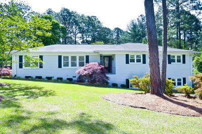 Southern Pines Single Family Home For Sale: 240 Midlothian Drive
