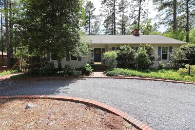 Moore County Single Family Home Active/Contingent: 13 Bangor Lane