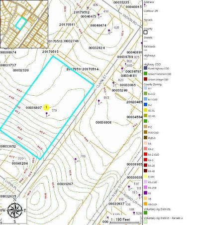 Southern Pines Residential Lots & Land Active/Contingent: 770 Clark Street
