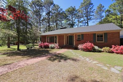 Southern Pines Single Family Home For Sale: 470 Country Club Drive