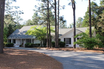 Pinehurst Single Family Home For Sale: 745 Donald Ross Drive