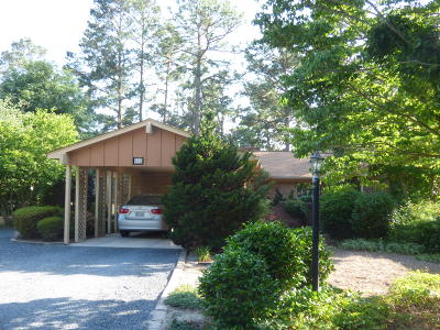 Southern Pines Condo/Townhouse For Sale: 910 Satinwood Court