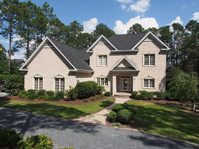 Pinehurst NC Single Family Home For Sale: $748,000