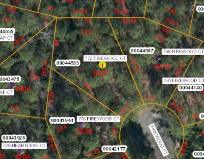 Vass Residential Lots & Land For Sale: 772 Firewood Court