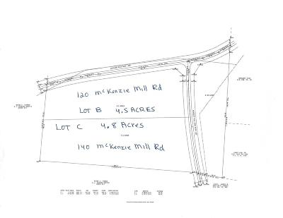 Residential Lots & Land For Sale: 120 McKenzies Mill Road