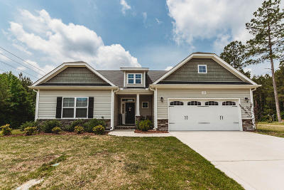 Moore County Single Family Home Active/Contingent: 105 Almond Drive