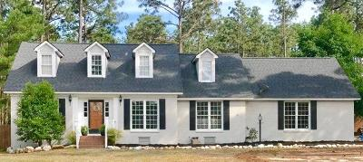 Southern Pines Single Family Home Active/Contingent: 495 Stoneyfield Drive