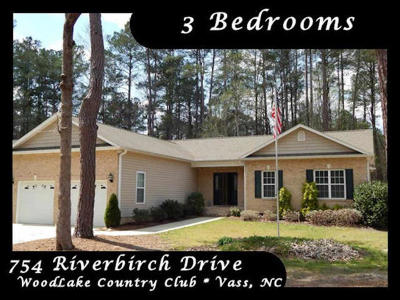 Vass Single Family Home For Sale: 754 Riverbirch Drive