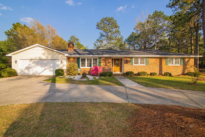 Southern Pines Single Family Home Active/Contingent: 300 Midlothian Drive