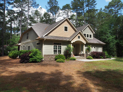 Pinehurst Single Family Home Active/Contingent: 2 White Birch Lane